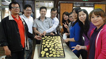 Agricultural tourism expert guide, Futain Village Eco-educational Farm(福田園教育休閒農場), Director Bing-Yi