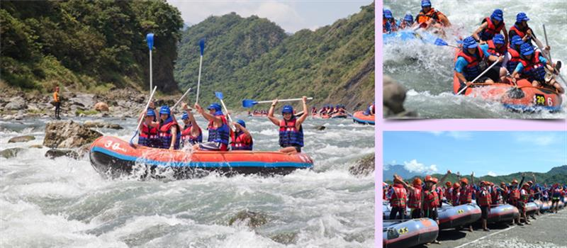 Xiuguluan River Rafting Activity